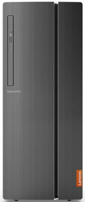 Неттоп Lenovo IdeaCentre 510-15IKL Intel Core i3-7100 4Gb 1Tb nVidia GeForce GTX 1050 2048 Мб Windows 10 черный 90G8001YRS компьютер game pc 710 intel core i3 7100 8gb 1tb 2gb gtx1050 win10h sl 64 bit