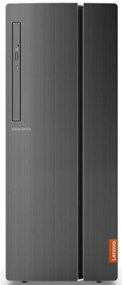Неттоп Lenovo IdeaCentre 510-15IKL Intel Core i7-7700 4Gb 1Tb nVidia GeForce GTX 1050 2048 Мб Windows 10 черный 90G80029RS ноутбук dell alienware 17 r4 17 3 intel core i7 7700hq 2 8ггц 32гб 1000гб 256гб ssd nvidia geforce gtx 1070 8192 мб windows 10 серебристый [a17 8999]