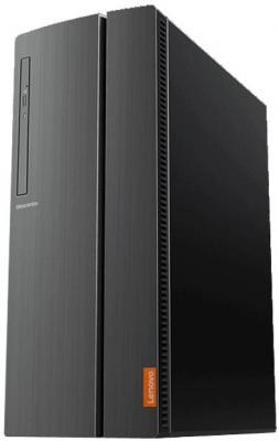 Неттоп Lenovo IdeaCentre 510-15IKL Intel Core i7-7700 4Gb 1Tb nVidia GeForce GTX 1050 2048 Мб Windows 10 черный 90G80029RS