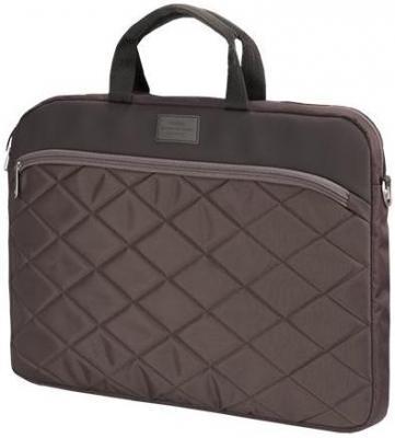 Сумка для ноутбука 15.6 Sumdex PON-328 BR нейлон полиэстер коричневый сумка для ноутбука sumdex pon 308bu netbook case до 10 нейлон полиэстер голубой 29 8 х 21 х 5 1 см