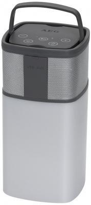 Bluetooth-аудиосистема AEG BSS 4841 бело-серый bluetooth аудиосистема aeg bss 4827 anthracite серый