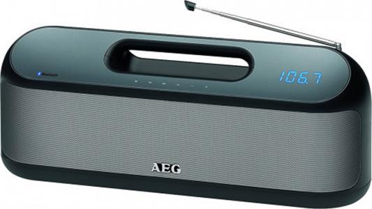 Bluetooth-аудиосистема AEG SR 4842 BTS черный штроборез aeg mfe 1500