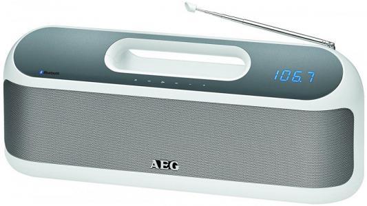 Bluetooth-аудиосистема AEG SR 4842 BTS белый вентилятор напольный aeg vl 5569 s lb 80 вт