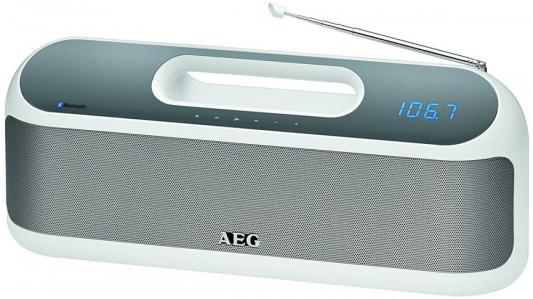 Bluetooth-аудиосистема AEG SR 4842 BTS белый bluetooth аудиосистема aeg bss 4827 anthracite серый