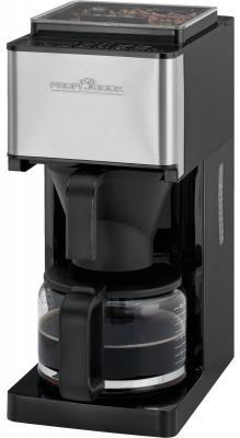 Кофемашина Profi Cook PC-KA 1138 серебристый черный электрическая варочная панель bosch pkm646fp1r pkm646fp1r