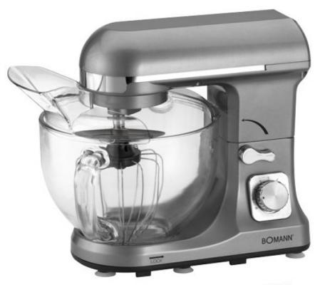 все цены на Кухонный комбайн Bomann KM 1394 CB серебристый онлайн