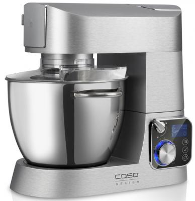 Кухонный комбайн CASO KM 1200 Chef серебристый