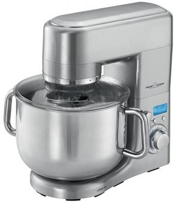 Кухонный комбайн Profi Cook PC-KM 1096 серебристый весы кухонные profi cook pc kw 1061 серебристый