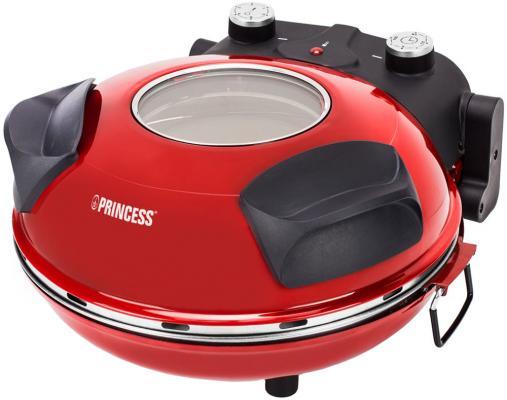 Прибор для приготовления пиццы Princess 115003 ��расный чёрный прибор для приготовления пончиков princess 132700