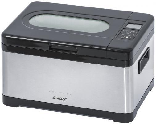 Медленноварка Steba SV 2 черный серебристый 800 Вт 8 л мультиварка steba dd 2 xl eco 1000 вт 6 л черный серебристый