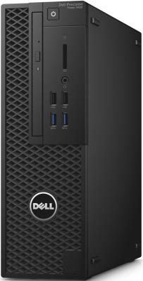 Системный блок DELL Precision 3420 E3-1245v6 3.7GHz 16Gb 1Tb 256Gb SSD HD630 DVD-RW Win10Pro черный 3420-4520 блок питания fractal design integra m 650w fd psu in3b 650w eu
