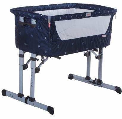 Кроватка-колыбель Zibos ALA (bandana blue)