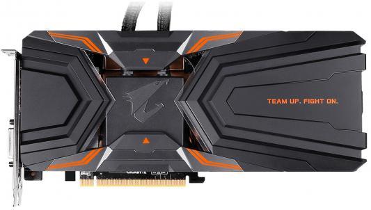 Видеокарта 11264Mb Gigabyte GeForce GTX1080Ti PCI-E HDMI DP DVI HDCP GV-N108TAORUS X W-11GD Retail видеокарта 11264mb gigabyte geforce gtx1080ti pci e hdmi dp dvi hdcp gv n108taorus 11gd retail