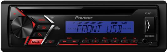 Автомагнитола Pioneer DEH-S100UBB USB MP3 CD FM RDS 1DIN 4x50Вт черный cd scorpions taken by force 50th anniversary deluxe edition
