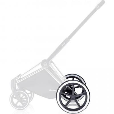 Комплект задних колес для коляски Cybex PriamTR (chrome)