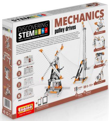 Конструктор ENGINO DISCOVERING STEM03 106 элементов конструктор engino cars 69 элементов