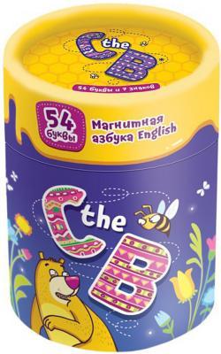 Настольная игра Банда Умников развивающая Магнитная азбука - C the B УМ090 магнитная игра банда умников c the b на английском языке ум090