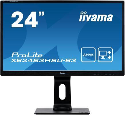 купить Монитор 24 iiYama ProLite XB2483HSU-B3 дешево
