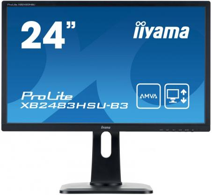 Монитор 24 iiYama ProLite XB2483HSU-B3 монитор iiyama prolite xb2483hsu b1