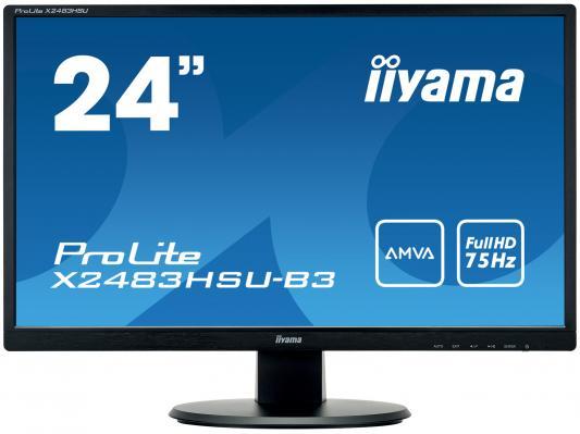 купить Монитор 24 iiYama X2483HSU-B3 дешево