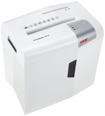 Уничтожитель бумаг HSM ShredStar S10-6 12лст 18лтр 1042121 уничтожитель бумаг kobra c1 e s 8 лст 18лтр