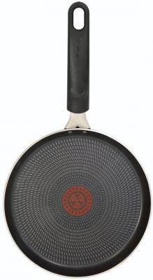 Сковорода блинная Tefal Extra 04165522 круглая 22см ручка несъемная (без крышки) черный (9100023393) сковорода блинная regent inox сковорода блинная