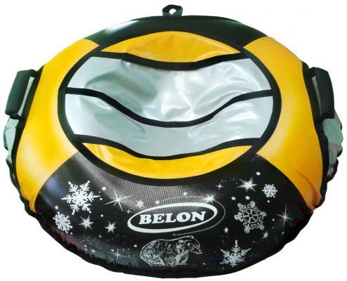 Тюбинг BELON Тент жёлтый СВ-004-Т2/СЧЖ желтый черный серый ПВХ тюбинг belon тент оранжевый св 004 т2 счо оранжевый пвх