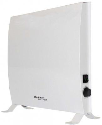 цена Конвектор Scarlett SCA H VER14 2000 2000 Вт термостат белый