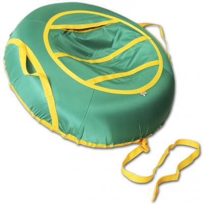 Купить Тюбинг BELON Эконом зеленый СВ-004-О/З зеленый резина текстиль, резина, текстиль, Тюбинги