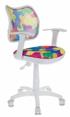 Кресло детское Бюрократ CH-W797/ABSTRACT абстракция кресло детское бюрократ ch 299 f на колесиках ткань мультиколор [ch 299 f abstract]