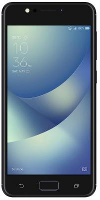 Смартфон ASUS Zenfone 4 Max ZC520KL черный 5.2 16 Гб LTE Wi-Fi GPS 3G 90AX00H1-M00380 смартфон asus zenfone 3 max zc553kl серебристый 5 5 32 гб lte wi fi gps 3g 90ax00d3 m00300