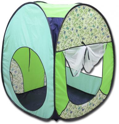 Игровая палатка BELON Квадрат Джунгли ПИ-004К-ПР1 игровая палатка belon квадрат буквы пи 004к пр5
