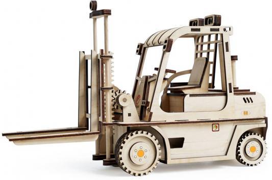 Деревянный конструктор LEMMO Погрузчик 123 элемента