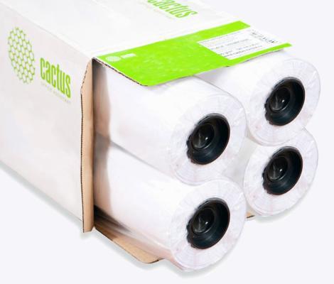 Бумага Cactus Eco CS-LFP80-610457E-4 610мм-45м 80г/м2 втулка 50.8мм 4шт талреп зубр din 1480 крюк кольцо м12 тф5 4шт 4 304355 12