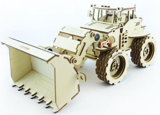 Конструктор LEMMO Трактор Бульдог 137 элементов конструктор металлический грузовик и трактор 345 элементов