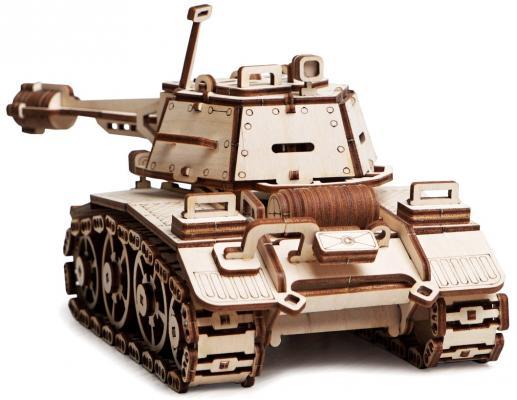 Деревянный конструктор LEMMO танк Кадет 392 элемента конструкторы tigres tigres 39076 конструктор 244 элемента
