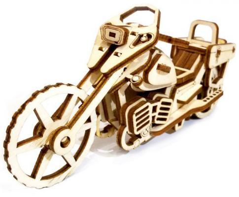 Деревянный конструктор LEMMO мотоцикл Майк 41 элемент цена