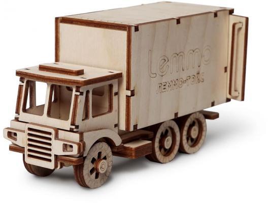 Деревянный конструктор LEMMO грузовик Чип 51 элемент цена