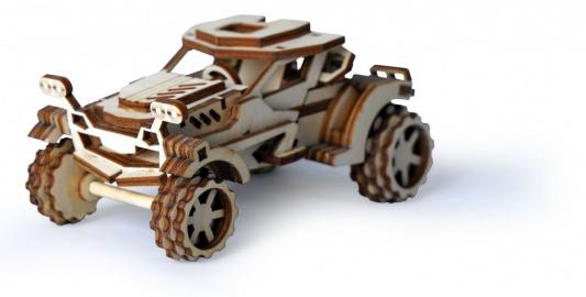Деревянный конструктор LEMMO автомобиль Скорпион 74 элемента lemmo деревянный 3d конструктор подвижный робот флеш lemmo