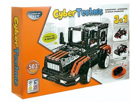 Конструктор CYBER TOY 6508 CyberTechnic 3 в 1 503 элемента конструктор cyber toy cybertechnic 2 в 1 303 детали 7781
