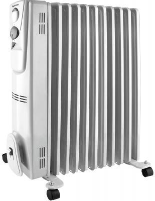 Масляный радиатор Vitek VT-2128(W) 2300 Вт термостат ручка для переноски колеса для перемещения белый цены