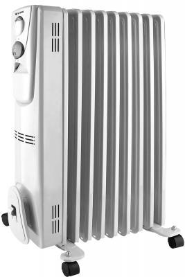 Масляный радиатор Vitek VT-2127 W 2000 Вт ручка для переноски термостат белый