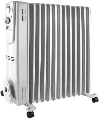 Масляный радиатор Vitek VT-2129 W 2500 Вт ручка для переноски термостат белый цены