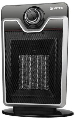 Тепловентилятор Vitek VT-1750 2000 Вт термостат ручка для переноски чёрный цены