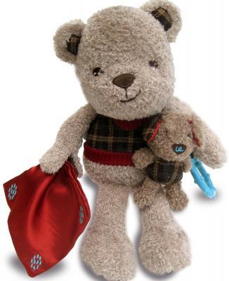 лучшая цена Мягкая игрушка LITTLE BIRD TOLD ME Медвежонок и Щенок LB3047