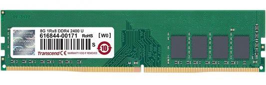 Оперативная память 8Gb (1x8Gb) PC4-19200 2400MHz DDR4 DIMM CL17 Transcend JM2400HLB-8G цена