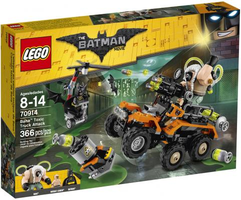 Конструктор LEGO Фильм: Бэтмен - Химическая атака Бэйна 366 элементов 70914 lego горный внедорожник 70589