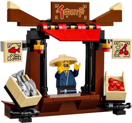 Конструктор LEGO Ninjago: Ограбление киоска в Ниндзяго Сити 233 элемента 70607