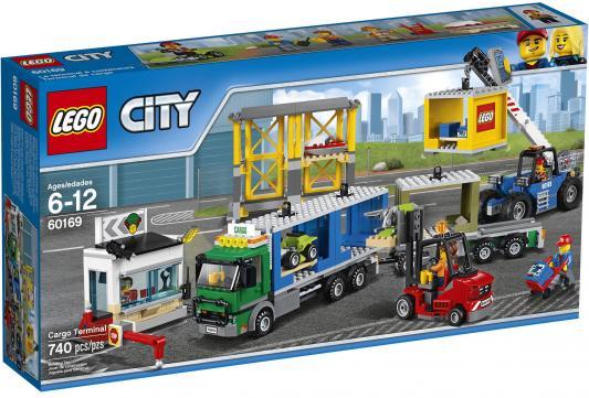 Конструктор LEGO City Грузовой терминал 740 элементов 60169