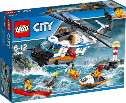Конструктор LEGO City Сверхмощный спасательный вертолёт 415 элементов 60166